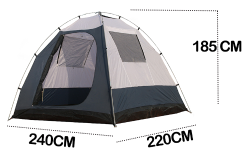 Купить палатка tasman 4v dome plus coolwalk (200см+220см)*240см*190см от -заказать +7 (499) 938 7578