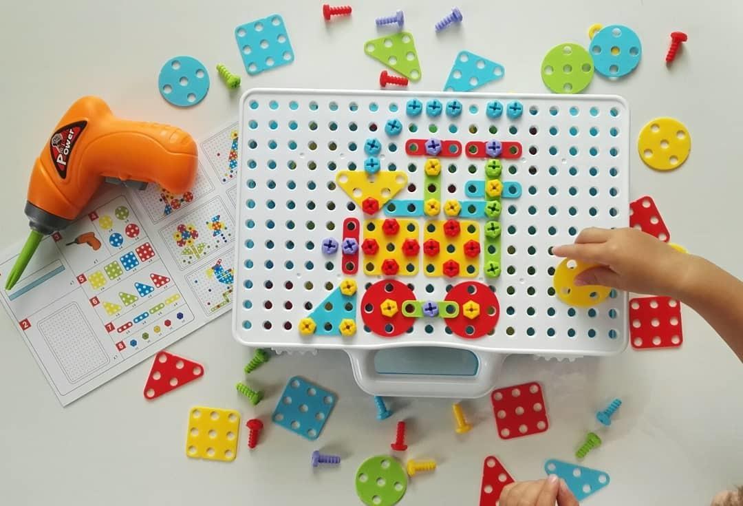 Детский развивающий конструктор Create and Play в Юбилейном