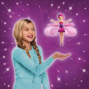 Летающая фея и девочка